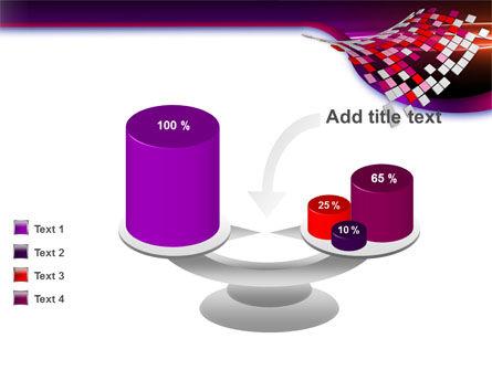 Pink Pixels PowerPoint Template Slide 10