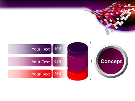 Pink Pixels PowerPoint Template Slide 11