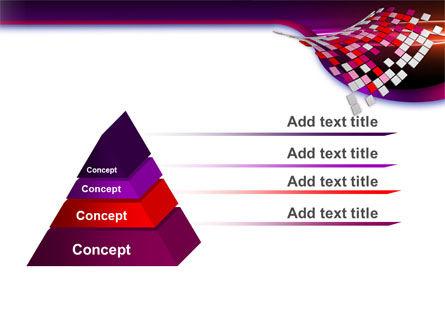 Pink Pixels PowerPoint Template Slide 12