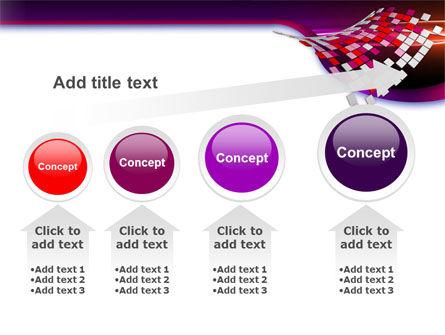 Pink Pixels PowerPoint Template Slide 13