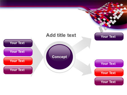 Pink Pixels PowerPoint Template Slide 14
