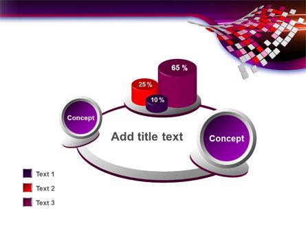 Pink Pixels PowerPoint Template Slide 16