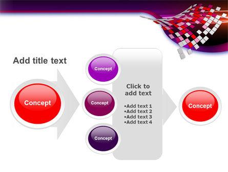 Pink Pixels PowerPoint Template Slide 17