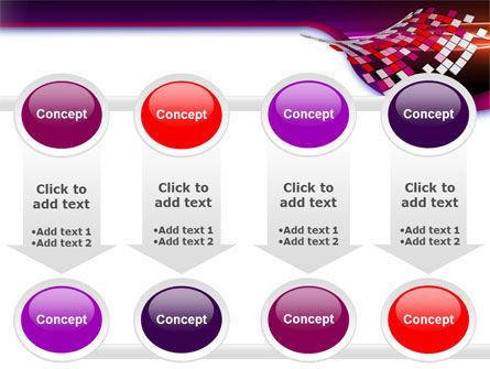 Pink Pixels PowerPoint Template Slide 18