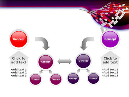 Pink Pixels PowerPoint Template Slide 19