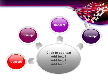 Pink Pixels PowerPoint Template Slide 7