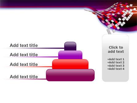 Pink Pixels PowerPoint Template Slide 8