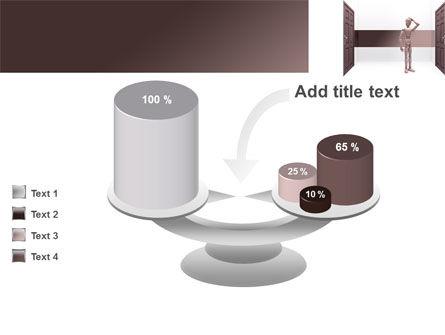 Two Doors PowerPoint Template Slide 10