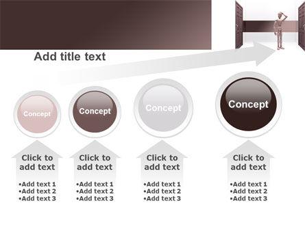 Two Doors PowerPoint Template Slide 13