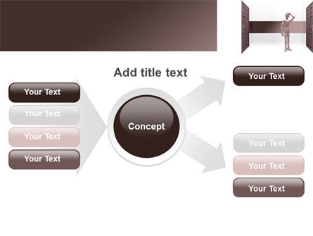 Two Doors PowerPoint Template Slide 14