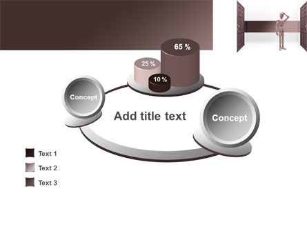 Two Doors PowerPoint Template Slide 16