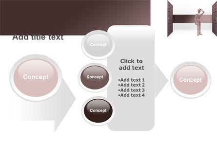 Two Doors PowerPoint Template Slide 17