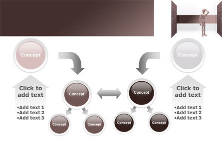 Two Doors PowerPoint Template Slide 19