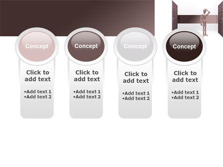 Two Doors PowerPoint Template Slide 5