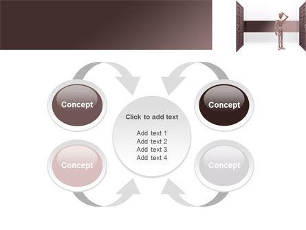 Two Doors PowerPoint Template Slide 6