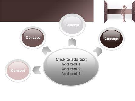 Two Doors PowerPoint Template Slide 7