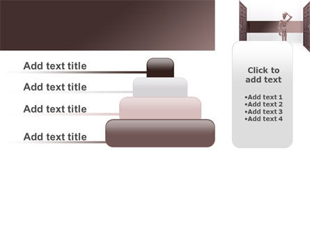Two Doors PowerPoint Template Slide 8