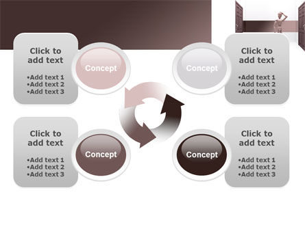 Two Doors PowerPoint Template Slide 9