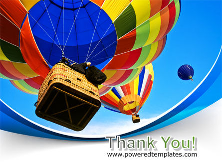Colorful Air Balloons Free PowerPoint Template Slide 20