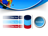 Colorful Air Balloons Free PowerPoint Template#11