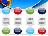 Colorful Air Balloons Free PowerPoint Template#18