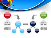 Colorful Air Balloons Free PowerPoint Template#19
