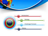 Colorful Air Balloons Free PowerPoint Template#3