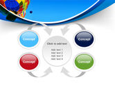 Colorful Air Balloons Free PowerPoint Template#6