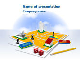 Education & Training: 市の予算 - PowerPointテンプレート #08360