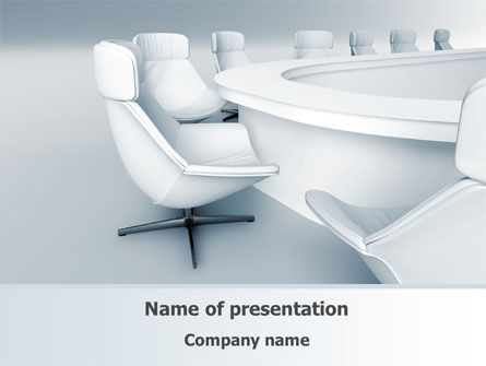 Business: Boardroom PowerPoint Template #08363