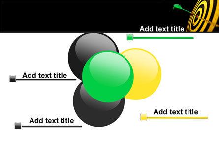 Bullseye Dart PowerPoint Template Slide 10