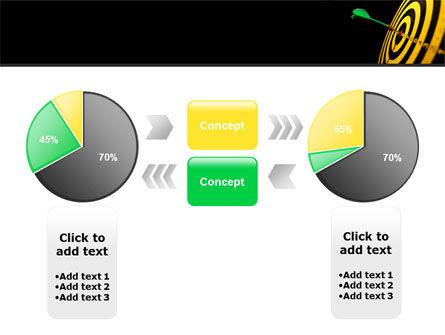 Bullseye Dart PowerPoint Template Slide 11