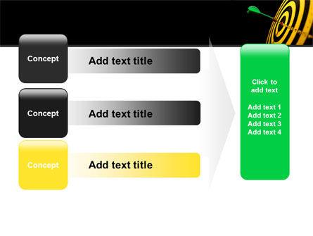 Bullseye Dart PowerPoint Template Slide 12