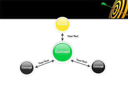Bullseye Dart PowerPoint Template Slide 14