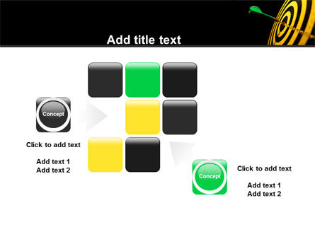 Bullseye Dart PowerPoint Template Slide 16