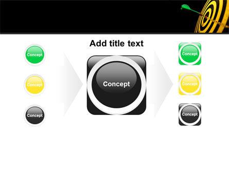 Bullseye Dart PowerPoint Template Slide 17