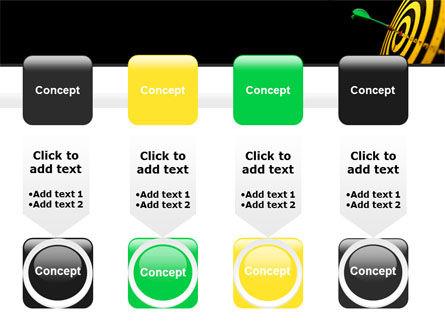 Bullseye Dart PowerPoint Template Slide 18