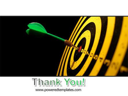 Bullseye Dart PowerPoint Template Slide 20