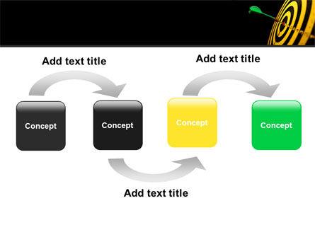 Bullseye Dart PowerPoint Template Slide 4