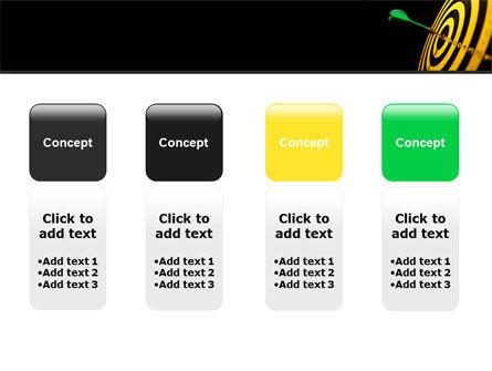 Bullseye Dart PowerPoint Template Slide 5