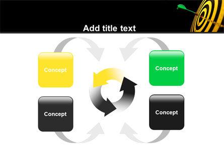 Bullseye Dart PowerPoint Template Slide 6