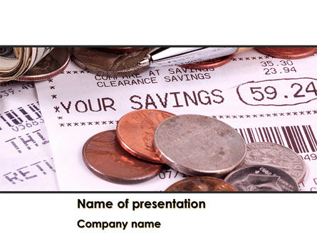 Personal Savings PowerPoint Template