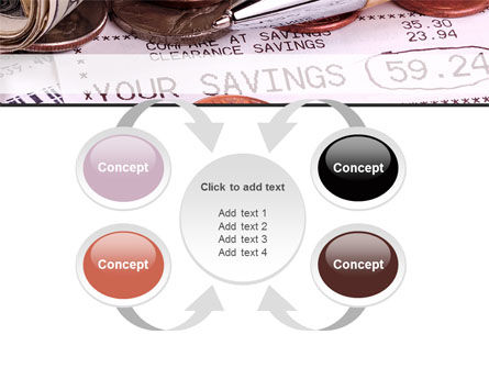 Personal Savings PowerPoint Template Slide 6