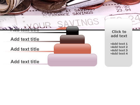 Personal Savings PowerPoint Template Slide 8