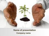 Nature & Environment: Zukunftsplanung PowerPoint Vorlage #08367