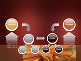 Joined Hands PowerPoint Template#19