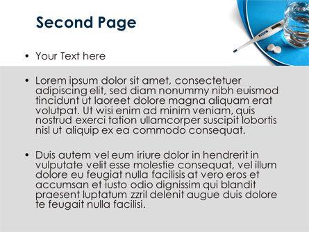 Flu Fever PowerPoint Template, Slide 2, 08370, Medical — PoweredTemplate.com