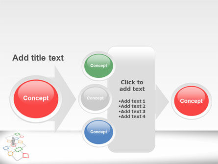 Flowchart PowerPoint Template Slide 17