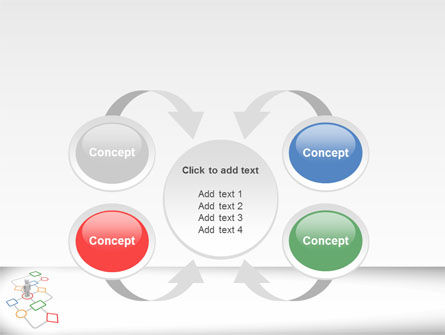 Flowchart PowerPoint Template Slide 6