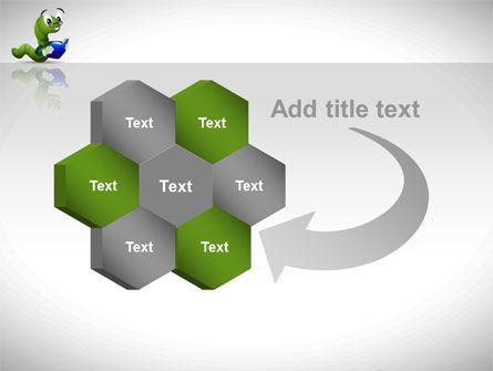 Smart Worm PowerPoint Template Slide 11